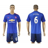 Manchester United #6 Pogba Away Soccer Club Jersey