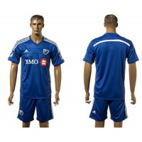 Montreal Impact Personalized Blue Home Soccer Club Jersey