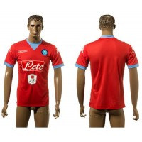 Naples Personalized Red Away Soccer Club Jersey