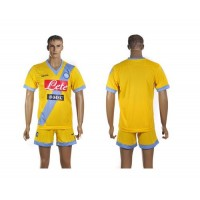 Naples Personalized Yellow Away Soccer Club Jersey