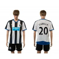 Newcastle #20 CABELLA Home Soccer Club Jersey