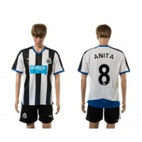 Newcastle #8 ANITA Home Soccer Club Jersey