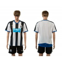 Newcastle Personalized Home Soccer Club Jersey
