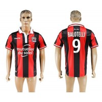 OGC Nice #9 Balotelli Home Soccer Club Jersey