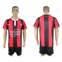 OGC Nice Blank Home Soccer Club Jersey
