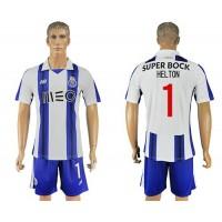 Oporto #1 Helton Home Soccer Club Jersey