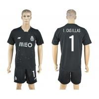 Oporto #1 I.Casillas Away Soccer Club Jersey