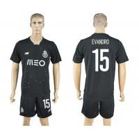 Oporto #15 Evandro Away Soccer Club Jersey