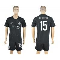 Oporto #15 Quintero Away Soccer Club Jersey