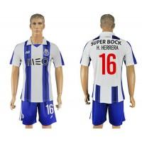 Oporto #16 H.Herrera Home Soccer Club Jersey