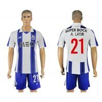 Oporto #21 A.Layun Home Soccer Club Jersey