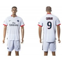 Paris Saint-Germain #9 Cavani Away Soccer Club Jersey