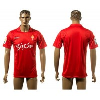 Real Sporting Personalized Red Away Soccer Club Jersey
