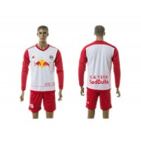 Red Bull Personalized Home Long Sleeves Soccer Club Jersey