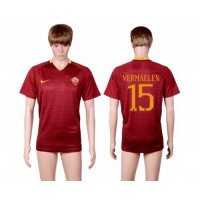 Roma #15 Vermaelen Red Home Soccer Club Jersey
