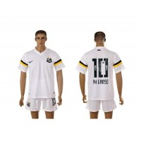 Santos #10 PH Ganso White Home Soccer Club Jersey