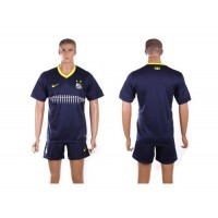 Santos Personalized Blue Away Soccer Club Jersey