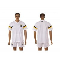 Santos Personalized White Home Soccer Club Jersey