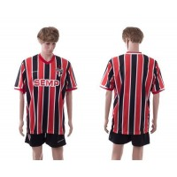Sao Paulo Personalized Home Soccer Club Jersey