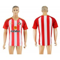 Sunderland Blank Home Soccer Club Jersey