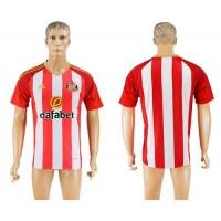 Sunderland Blank Home Soccer Club Jersey