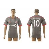Toronto FC #10 Giovinco Away Soccer Club Jersey