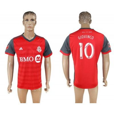 Toronto FC #10 Giovinco Home Soccer Club Jersey