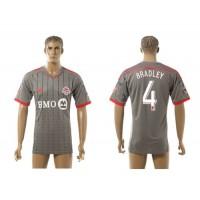 Toronto FC #4 Bradley Away Soccer Club Jersey