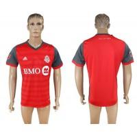 Toronto FC Blank Home Soccer Club Jersey