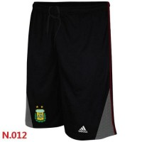 Adidas Argentina 2014 World Soccer Performance Shorts Black