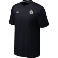Adidas Germany 2014 World Small Logo Soccer T-Shirts Black