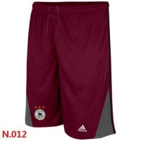 Adidas Germany 2014 World Soccer Performance Shorts Red