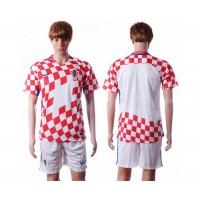 Croatia Personalized Home Soccer Country Jersey