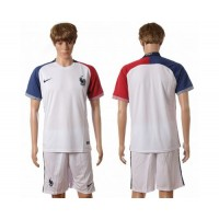 France Personalized Away Soccer Country Jersey